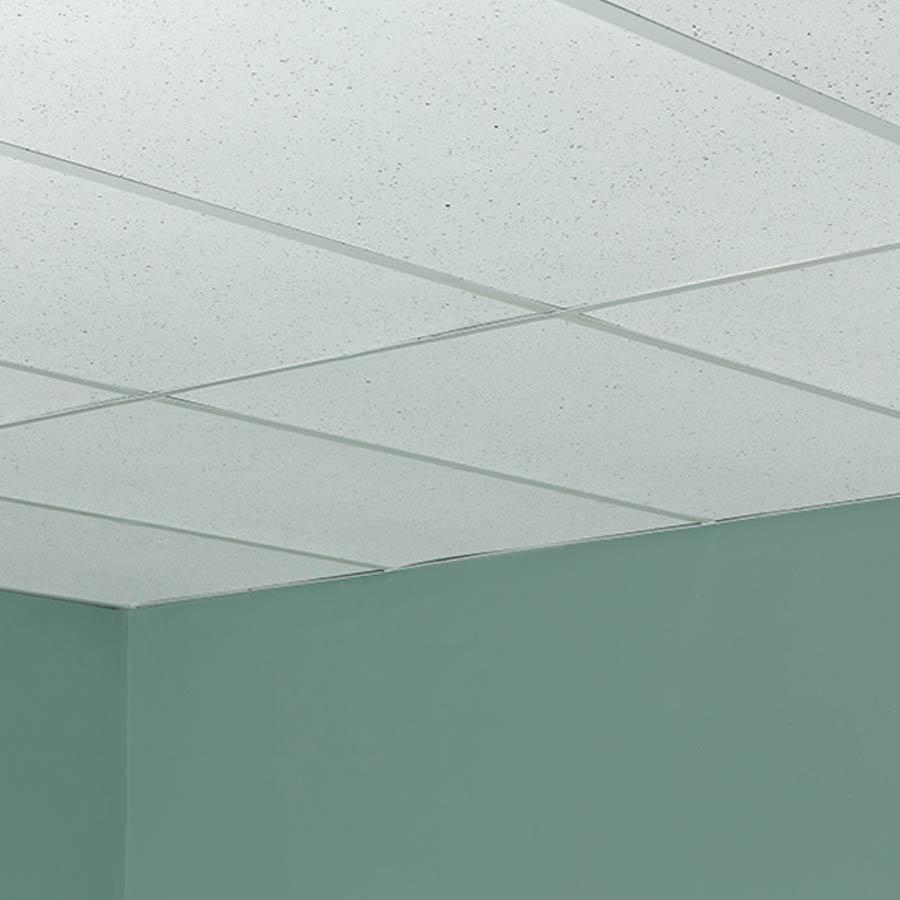 Genesis Recycled Ceiling Tile 2x4 in Flecked