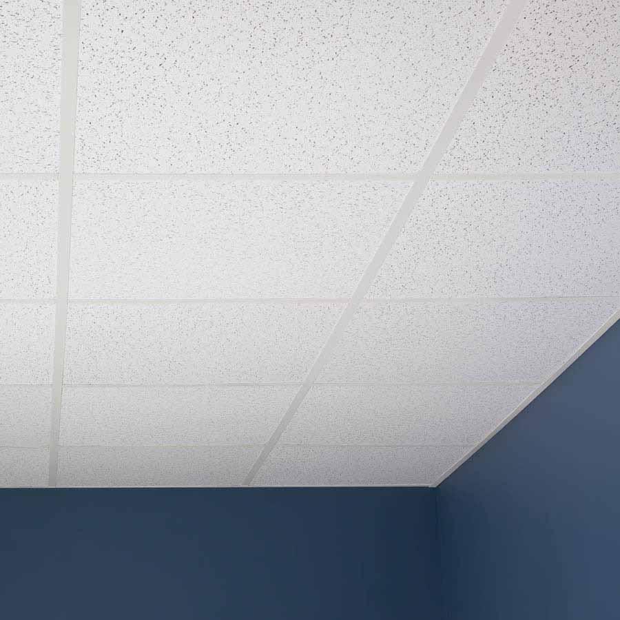 Genesis Ceiling Tile-2x2 Printed Pro in White
