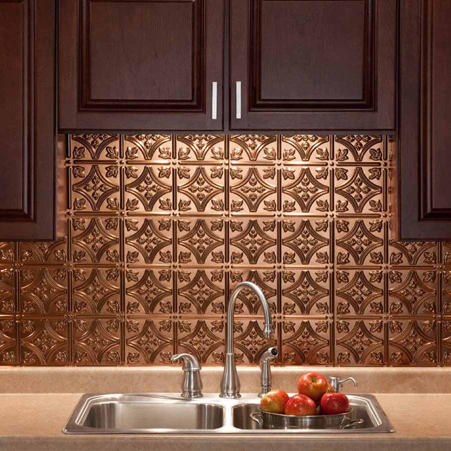 Fasade Backsplash - Traditional 1 in Oil-Rubbed Bronze