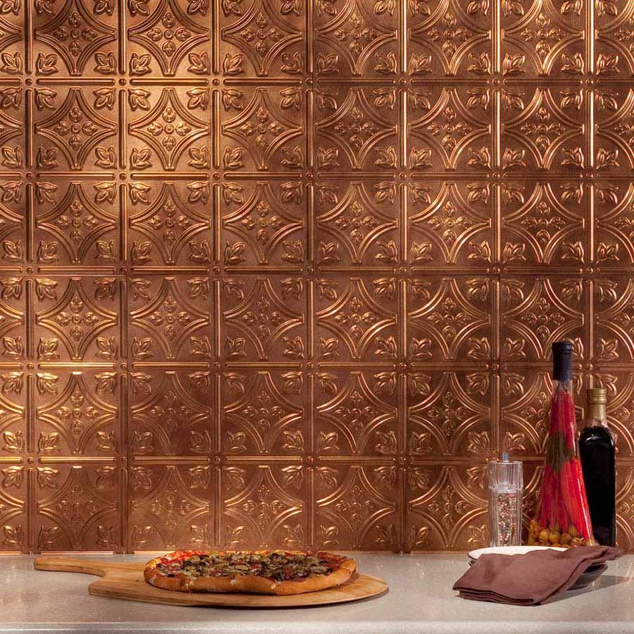 Fasade Backsplash - Traditional 1 in Antique Bronze