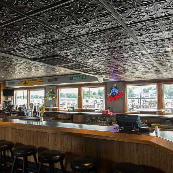 Genesis Ceiling Panels in Antique Black