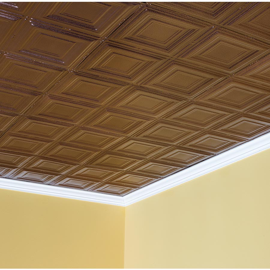 Great Lakes Tin 2x2 Ceiling Tile In Syracuse Diy Decor Store