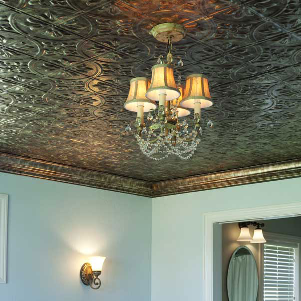 Fasade Ceiling Tile in Traditional-2